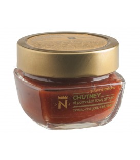 Tomato and garlic chutney